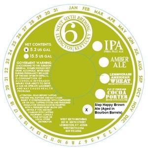 West Sixth Brewing Slap Happy Brown (aged In Bourbon Barrel