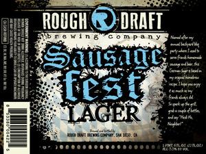 Rough Draft Brewing Company Sausagefest