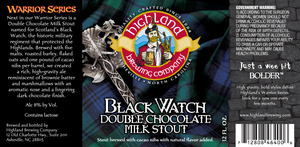 Highland Brewing Co. Black Watch Double Chocolate Milk Stout