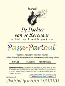 Afbeeldingsresultaat voor korenaar passe-partout logo