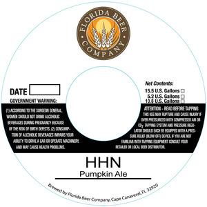 Florida Beer Company Hhn
