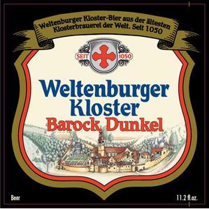 Klosterbrauerei Weltenburg Gmbh Barock Dunkel