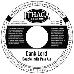 Ithaca Beer Company Dank Lord