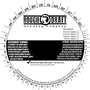 Rough Draft Brewing Company Stout Stout Baby With Coffee
