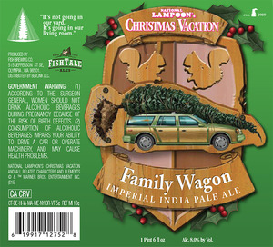 Fish Tale Ales Family Wagon Imperial India Pale Ale