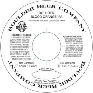 Boulder Blood Orange