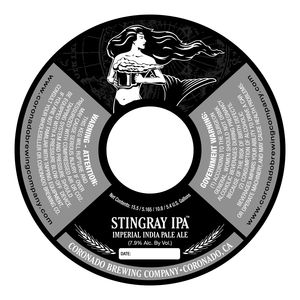 Coronado Brewing Company Stingray IPA
