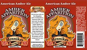 Henniker Brewing Company Amber Apparition