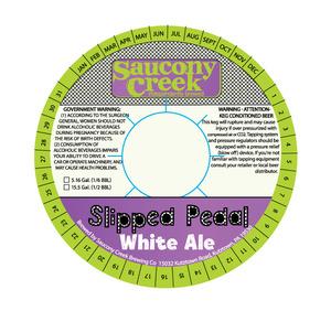 Slipped Pedal White Ale
