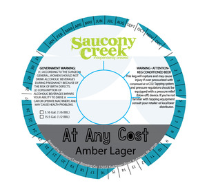 At Any Cost Amber Lager