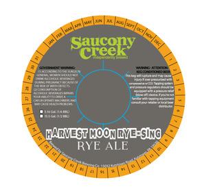 Harvest Moon Ryesing Ale