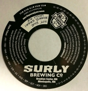 Surly Brewing Not Your Mommy's Umami Saison Ale