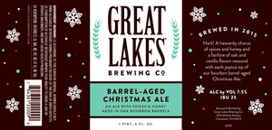 The Great Lakes Brewing Co. Barrel-aged Christmas