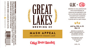 The Great Lakes Brewing Co. Mash Appeal
