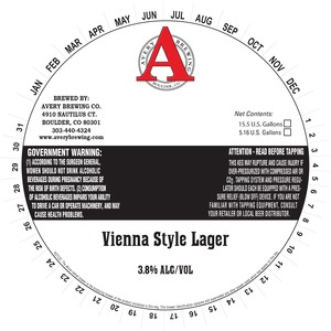 Avery Brewing Company Vienna Lager
