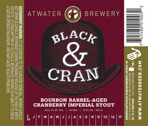 Atwater Brewery Black And Cran