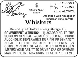 Off Color Brewing Whiskers