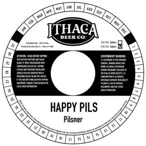 Ithaca Beer Company Happy Pils