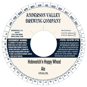 Anderson Valley Brewing Company Hobneelch'n Hoppy Wheat