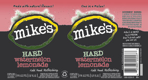 Mike's Hard Watermelon Lemonade