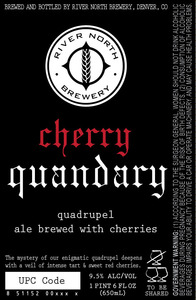 River North Brewery Cherry Quandary