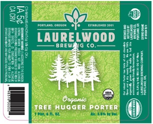 Laurelwood Brewing Co. Tree Hugger Porter