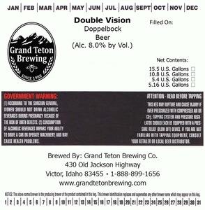 Grand Teton Brewing Double Vision