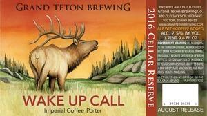 Grand Teton Brewing Company Wake Up Call