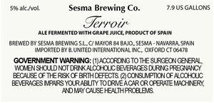 Sesma Brewing Co. Terroir