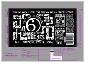 West Sixth Brewing Snake Eyes Imperial