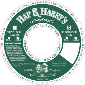 Hap & Harry's Tennessee Ale