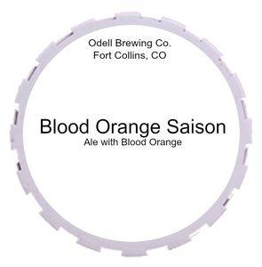 Odell Brewing Company Blood Orange Saison