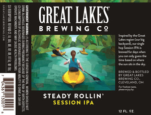 The Great Lake Brewing Co. Steady Rolliin'