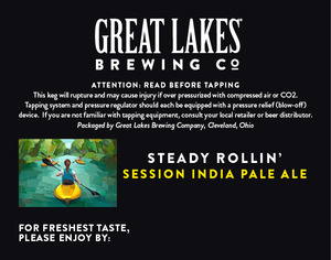 The Great Lakes Brewing Co. Steady Rollin'