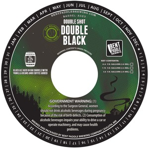 Barrel Aged Double Shot Double Black