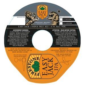 Firestone Walker Brewing Company Easy Jack IPA