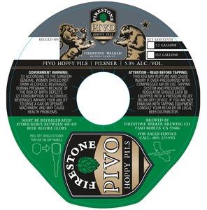 Firestone Walker Brewing Company Pivo Hoppy Pils
