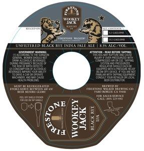 Firestone Walker Brewing Company Wookey Jack Black Rye IPA