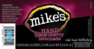 Mike's Black Cherry Lemonade
