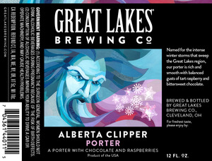 The Great Lakes Brewing Co. Alberta Clipper
