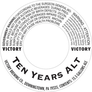 Victory Ten Years Alt