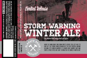 Klamath Basin Brewing Co. Storm Warning