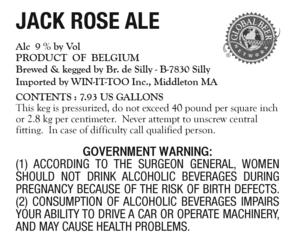 Jack Rose Ale