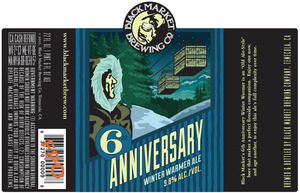 Black Market Brewing Co 6th Anniversary Winter Warmer Ale