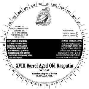 North Coast Brewing Co. Barrel Aged Old Rasputin