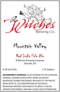 2 Witches Brewing Company Mountain Valley