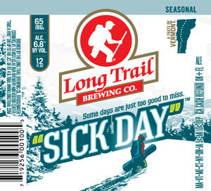 Long Trail Brewing Company Sick Day