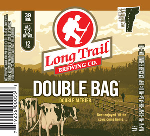 Long Trail Brewing Company Double Bag