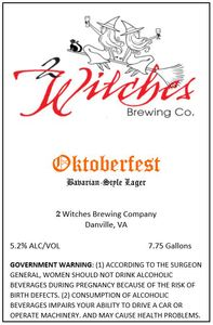 2 Witches Brewing Company Oktoberfest