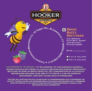 Thomas Hooker Brewing Co. Honey Berry Happiness